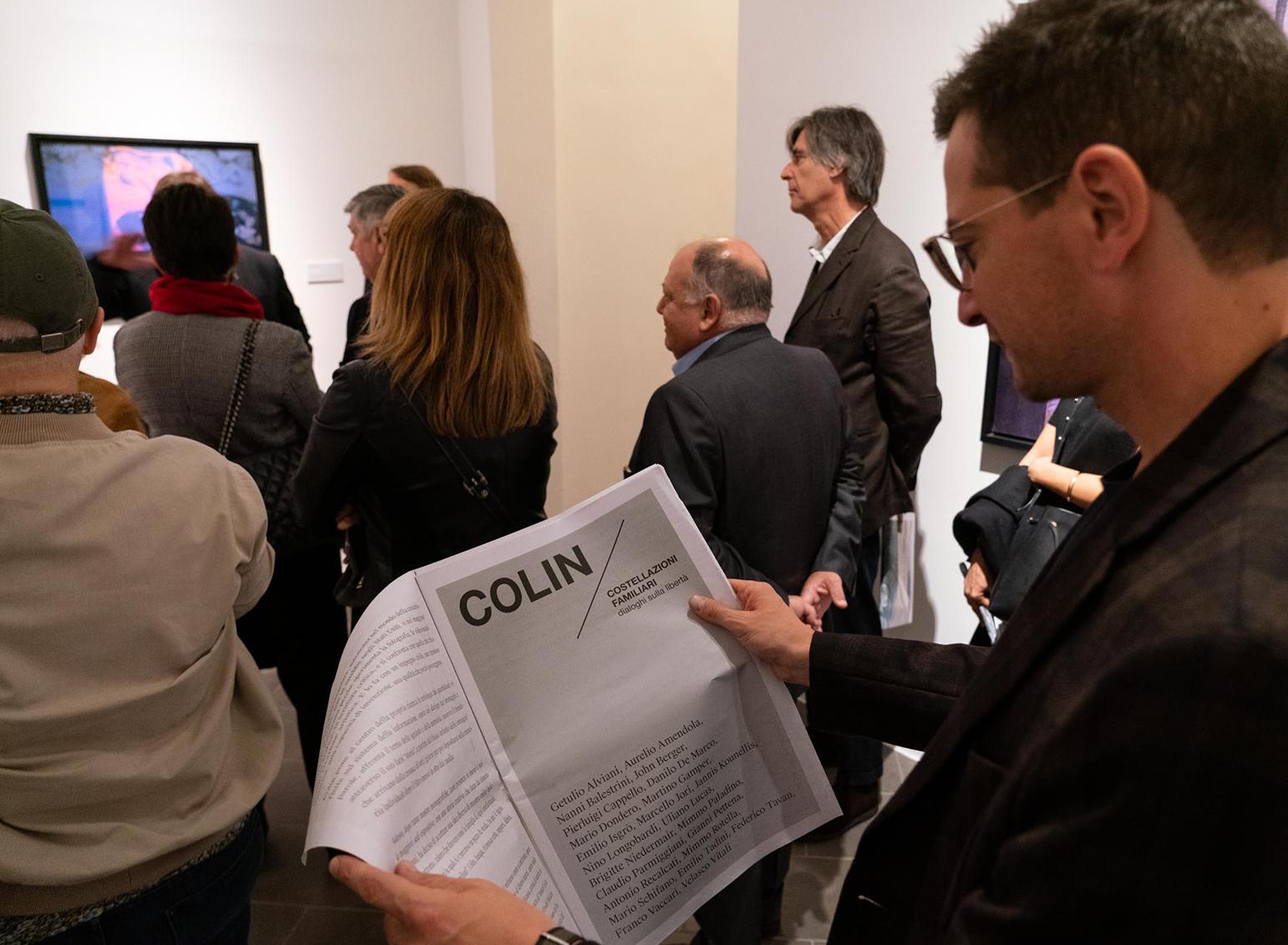 catalogo mostra Colin